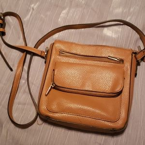 Brown Leather Crossbody